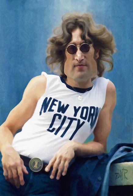 John Lennon by wooden-horse