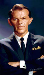 Frank Sinatra by wooden-horse