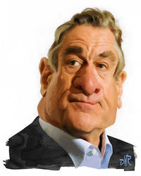 Robert De Niro by wooden-horse