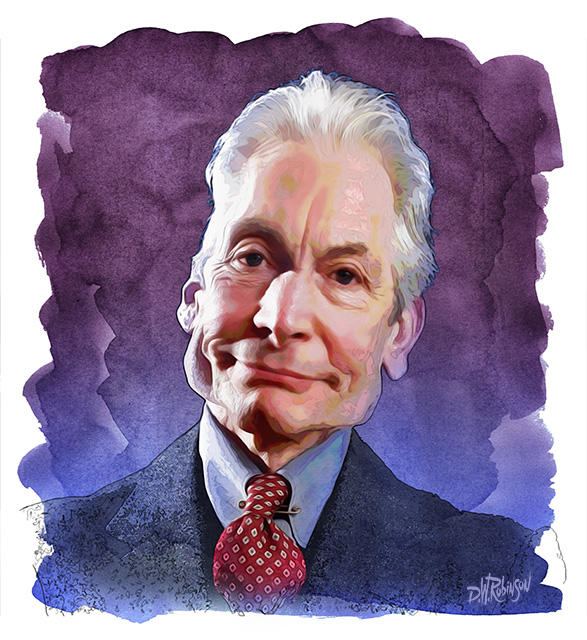 Charlie Watts by wooden-horse