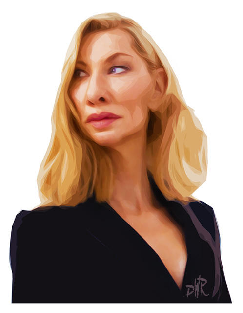 Cate Blanchett by wooden-horse