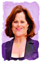 Sigourney Weaver by wooden-horse