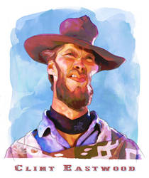 Clint Eastwood by wooden-horse