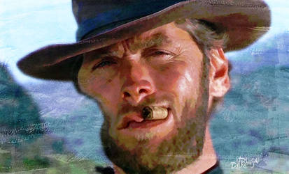Clint Eastwood as Blondie by wooden-horse