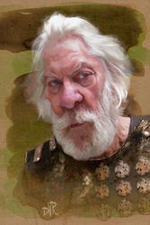 Donald Sutherland as Bartholomew by wooden-horse