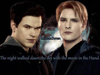 Emmett and carlisle Cullen by MichelleDoreen