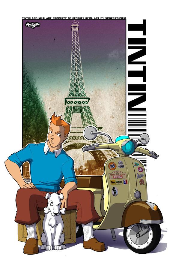 Tintin Fanart by siekfried