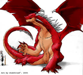 red dragon color finished by siekfried