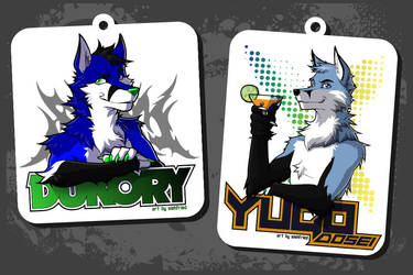 dukory and yugo badges by siekfried