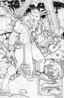 Werewolf inked by siekfried