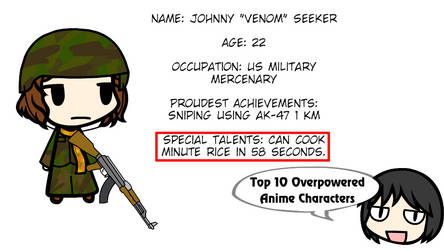 [Walfas] ~ Top 10 Overpowered Anime Characters by gervin51