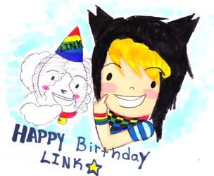 Birthday art For Linky by WickedTwist