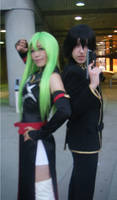 C2 and Lelouch by WickedTwist