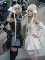 Freya and Chii by WickedTwist