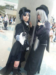 Ciel and Undertaker by WickedTwist