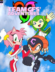 Team GFs' Adventures Cover #1 by FallenAngelCam7