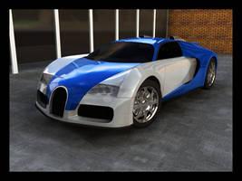Bugatti Veyron by magic-monkey