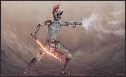 Jedi Gladiator by SUNSHINE1617