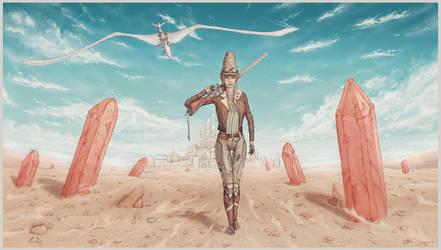 Cinda The Traveller by SUNSHINE1617