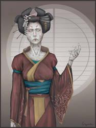Gynoid Geisha v.1 Yamato Heavy Industries by SUNSHINE1617