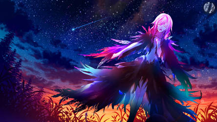 Departure blessing - Guilty Crown Wallpaper by Siimeo