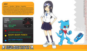 DWC Application - Misaki and V-mon by izumi07