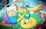 we love adventure time! by izumi07