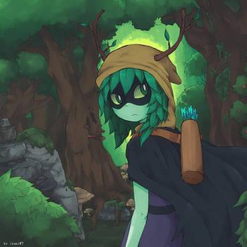 Huntress Wizard by izumi07