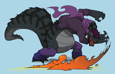 Crocdude for mortobo by Kiki-Tayler