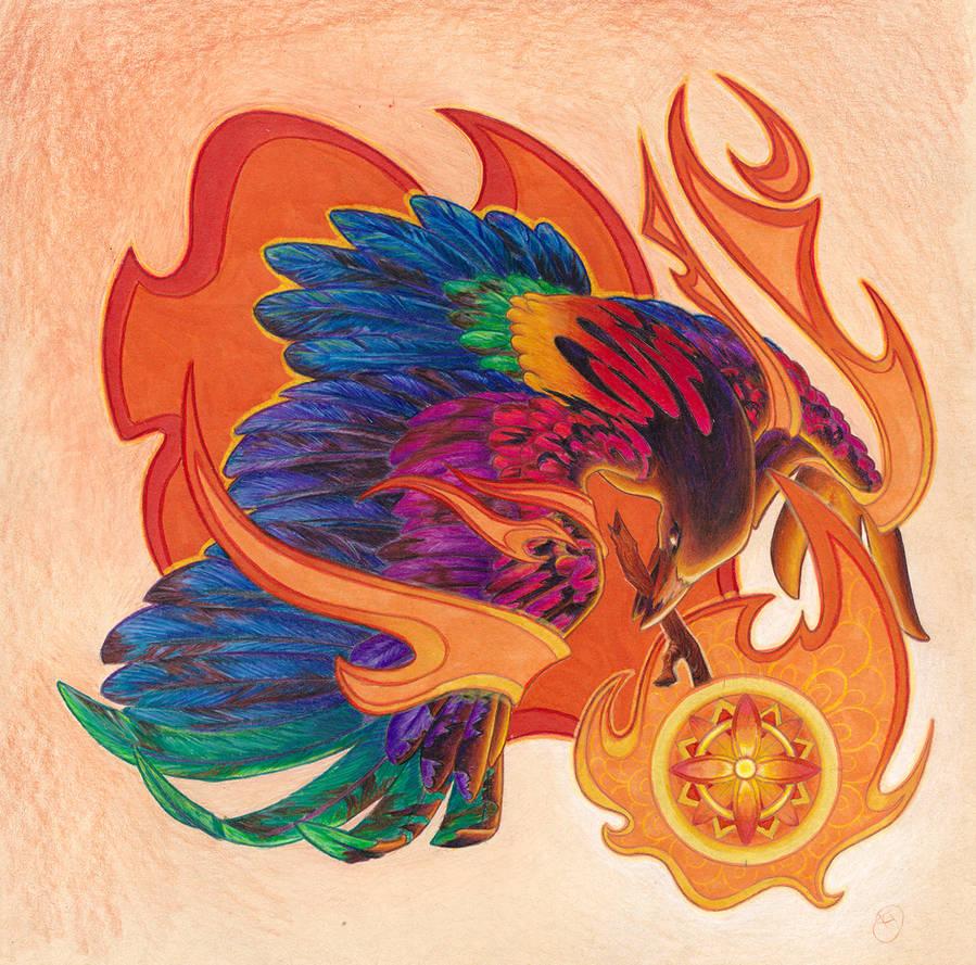 The Rainbow Crow by Kiki-Tayler