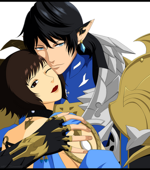 FFXIV Meant To Be by DreamAngel-Ren