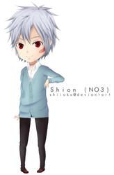 No6 - Chibi Shion by Shiioko