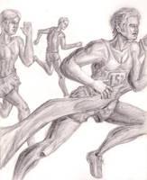 Marathon Sketch by Sketchee