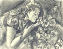 Flower Girl by Sketchee