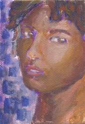 Art Card: Seen in Purple by Sketchee