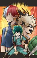 Hero Academia by Ezyn