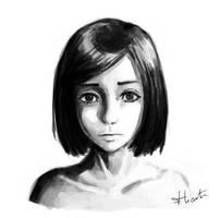 Jeune Fille by Roddar