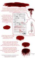 Blood Tutorial by Autumnxx