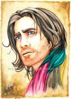 Prince Dastan in Watercolor by Queen-Uriel