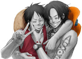 One Piece in Color by Atomika07