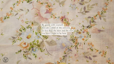 Sylvia Plath Quote Desktop Wallpaper by Ms-Chutkus