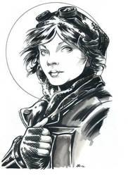 gotham's catwoman by darnet