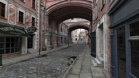 London alley by camel2586