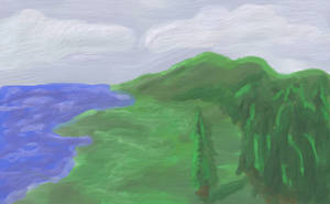 Landscape Experiment by marr0w