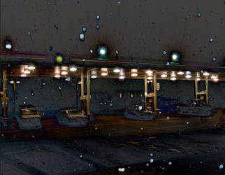 Nightmares and Gas Pumps by marr0w