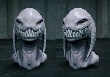 Demon bust by GrevSev