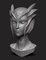 Elise - Bust by GrevSev