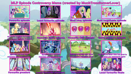 MLP Episode Controversy meme by XaldinWolfgang