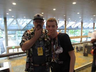 Me and DustyKatt at BronyCon 2018 by XaldinWolfgang