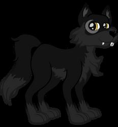 Night Wolf New Design by XaldinWolfgang